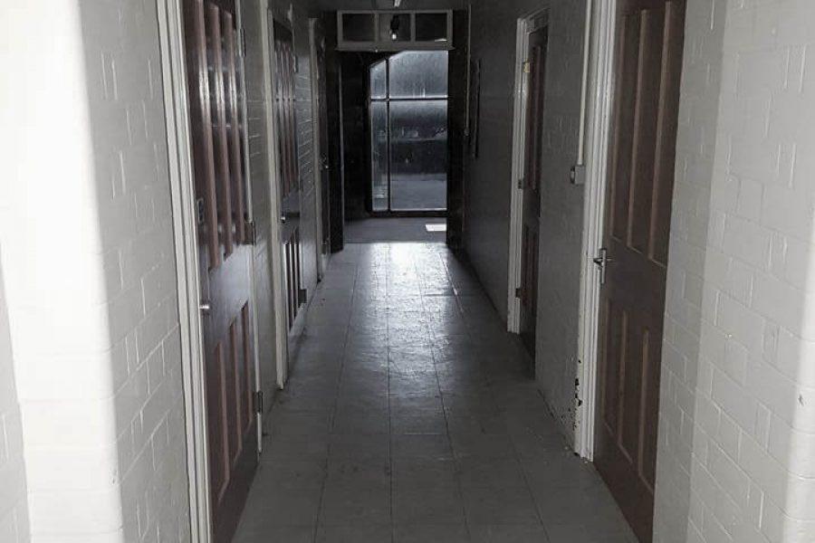 Old Haunted School hallway