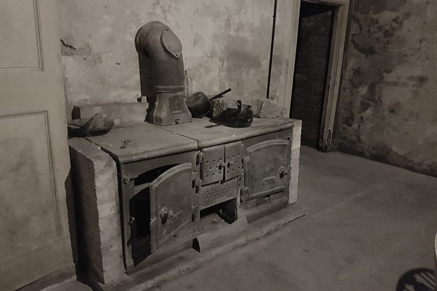 old stove in Revesby Abbey