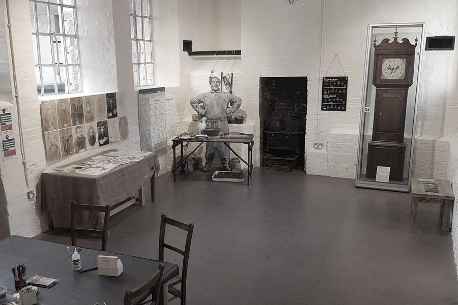 Ruthin Gaol interior