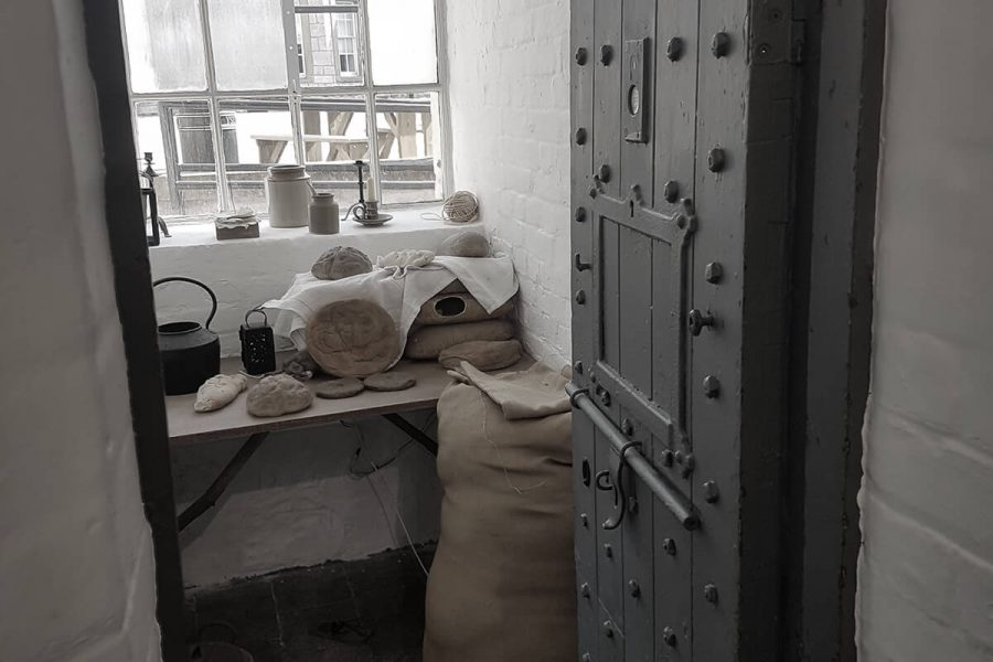 Ruthin Gaol cell