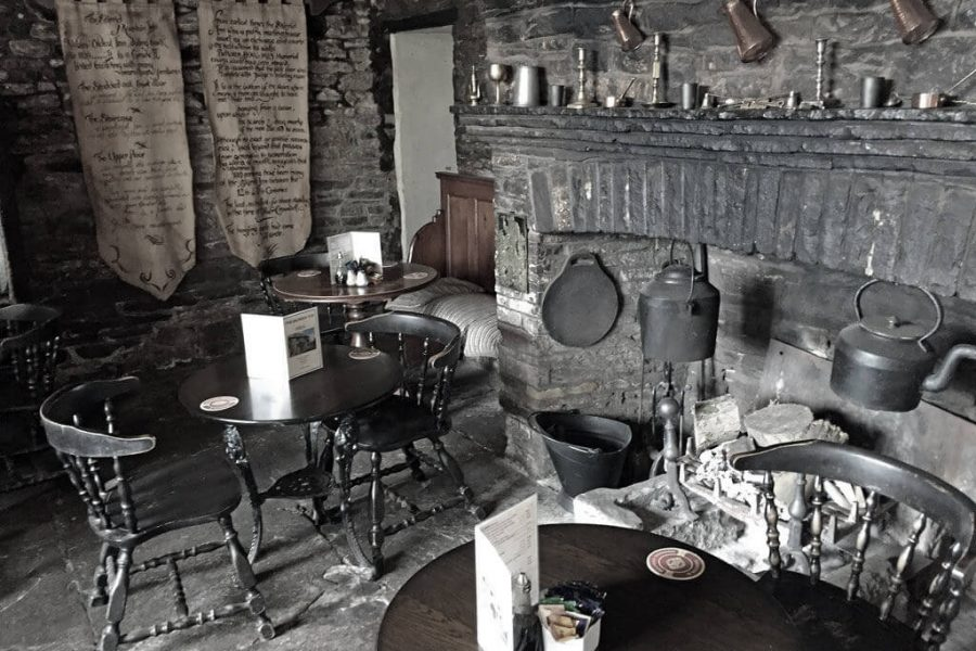 Skirrid Inn bar area