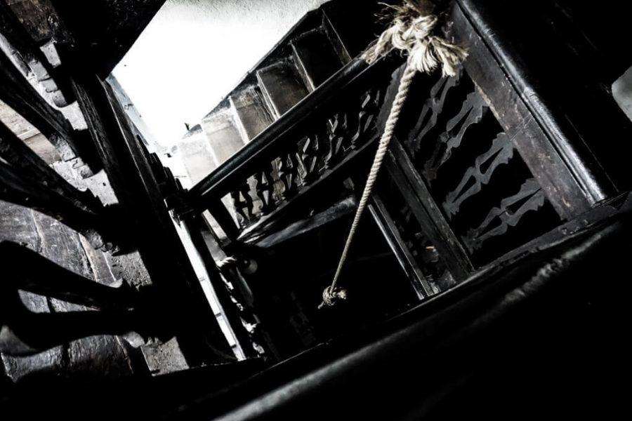 Skirrid Inn staircase