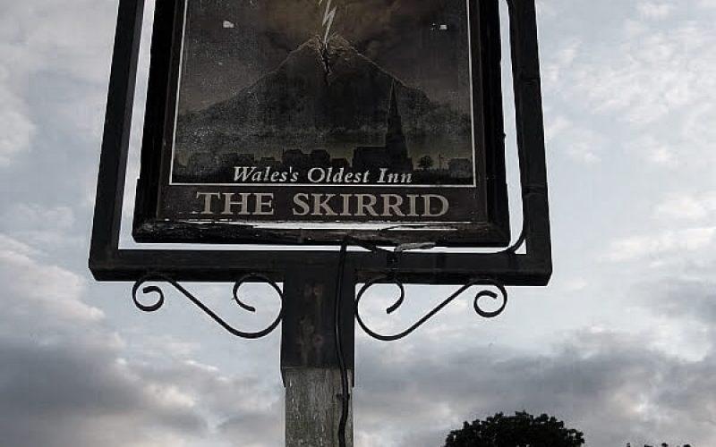Skirrid Inn sign