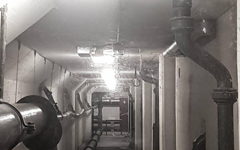 Smethwick Baths corridor