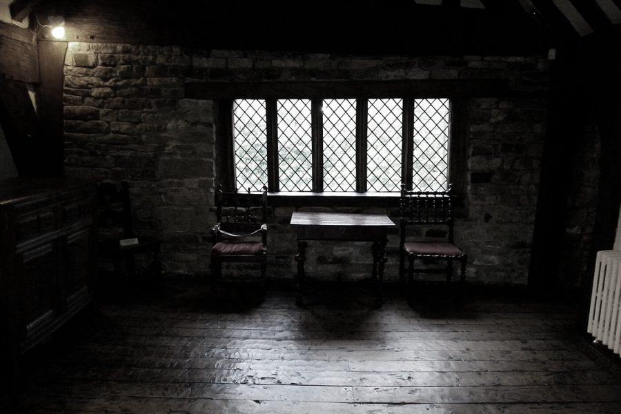 Smithills Hall window