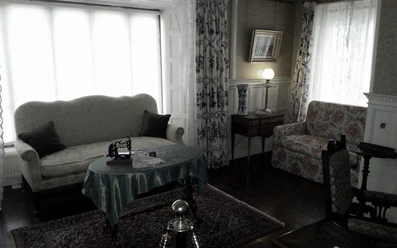 Smithills Hall living room