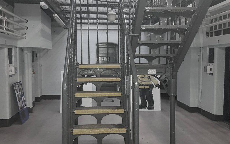 Steelhouse Lane staircase