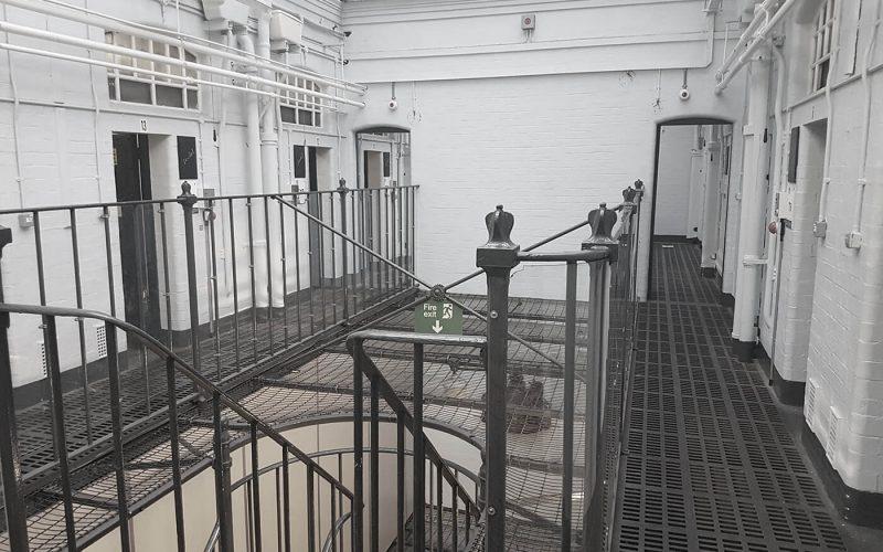 Steelhouse Lane view of cells
