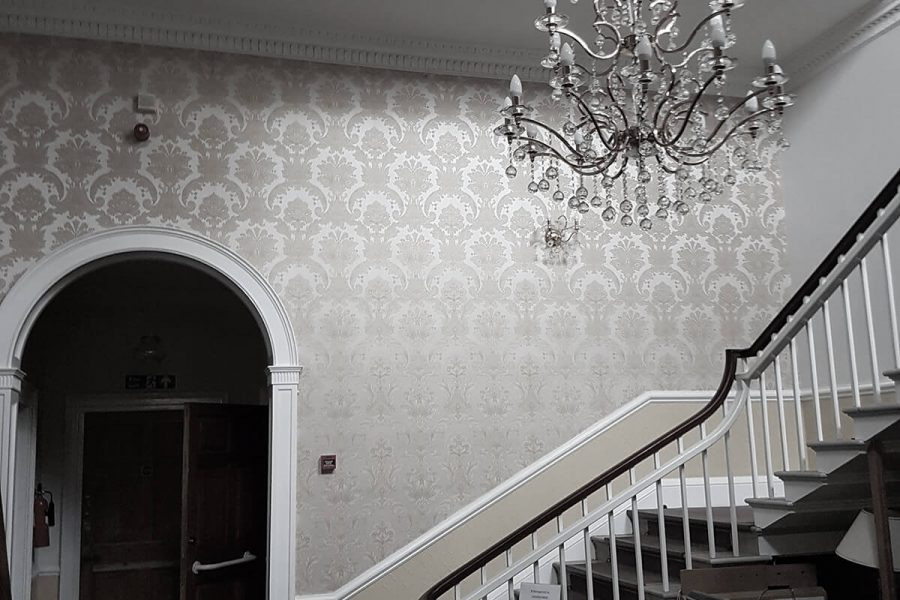 Strelley Hall view of staircase