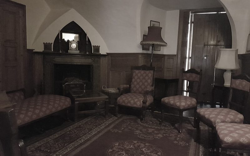 Strelley Hall chairs arranged in a circle