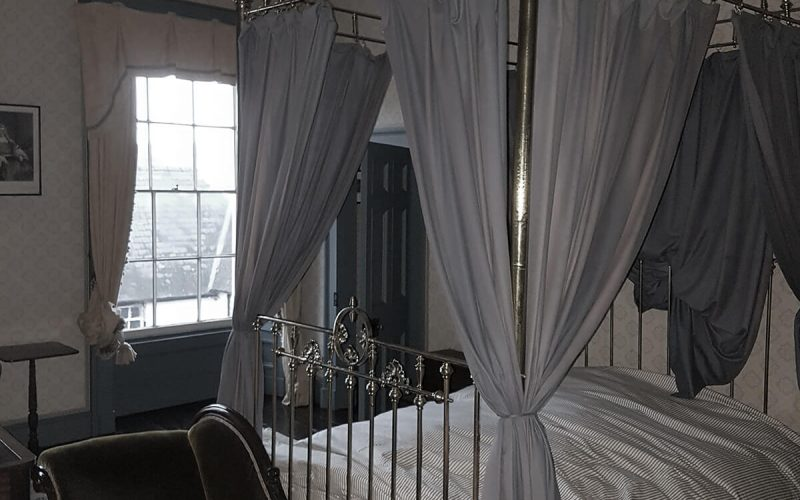 The Judges Lodging four poster bed