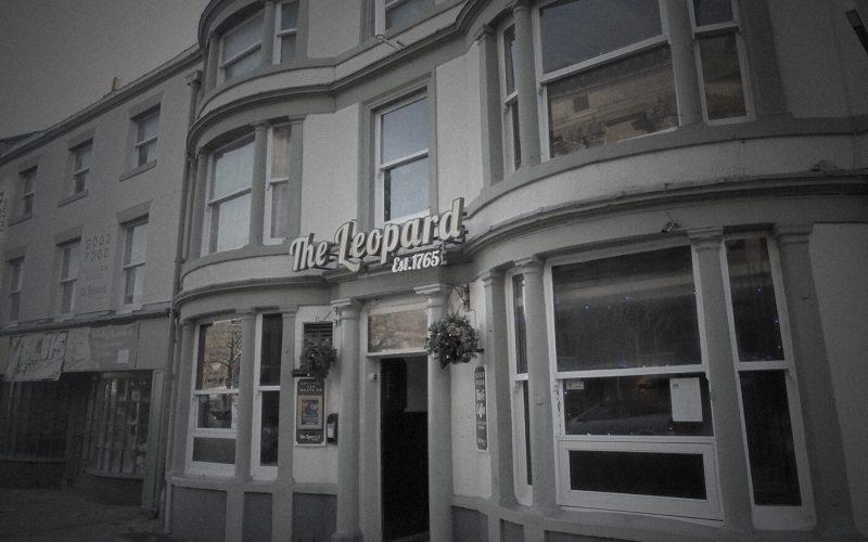 The Leopard Inn exterior