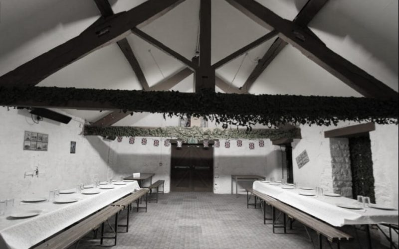 The Village dining area