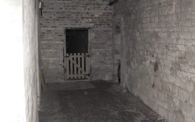 Woodchester Mansion gate