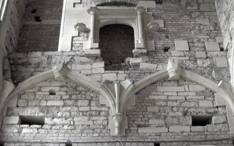 Woodchester Mansion masonry