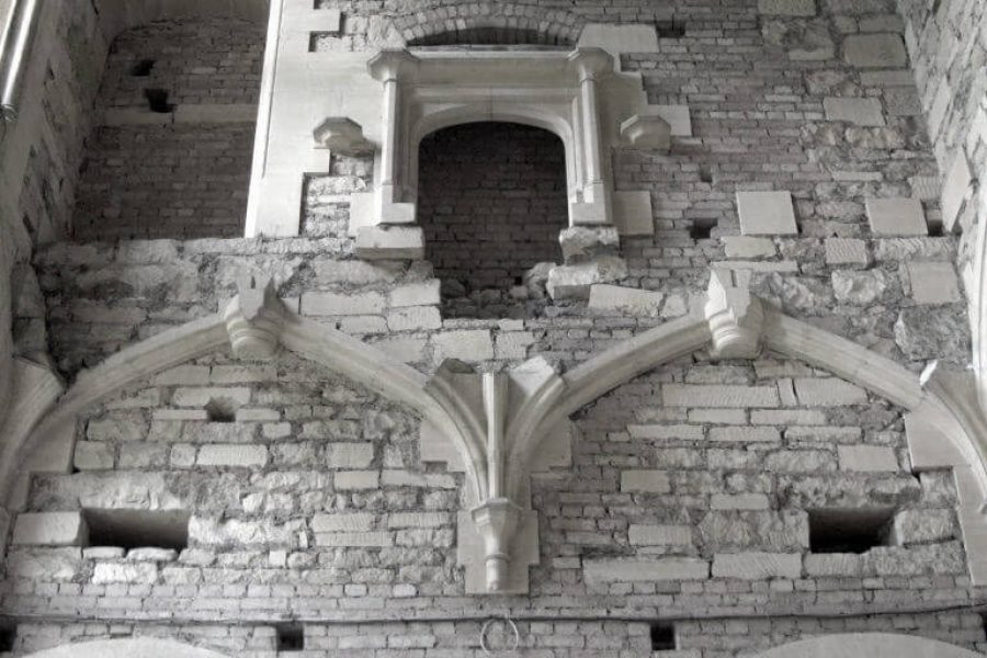 Woodchester Mansion masonry